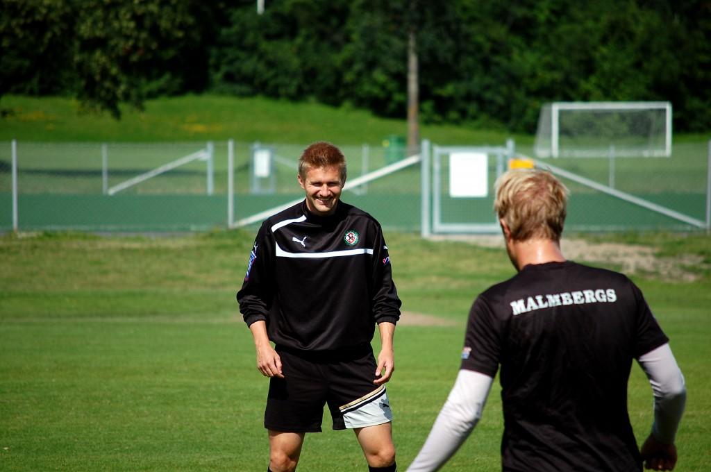 Daniel Bamberg  tränar tillsammans med Christoffer Wiktorsson.