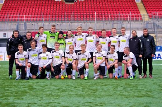 Laget som slog Malmö FF.
