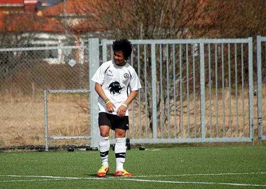 Burin Jankeaw: Matchvinnare för ÖSK P98 när han slog en hörna direkt i mål.
