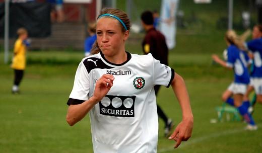 Freja Olofsson: Gillar att träna.