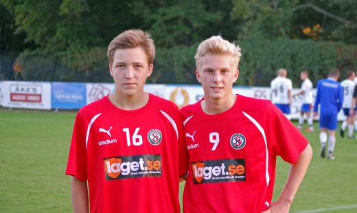 Hampus Lind och Felix Möller var ÖSKs målgörare i DM-semifinalen mot Rynninge IK.