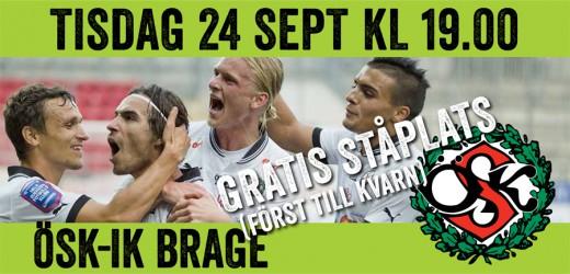 OSK-IK+BRAGE.gratis+ståplats