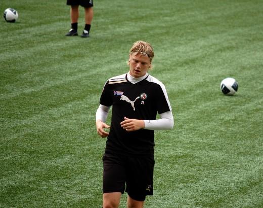 Erik Nilsson: Osäker på hur fotbollsframtiden ser ut.