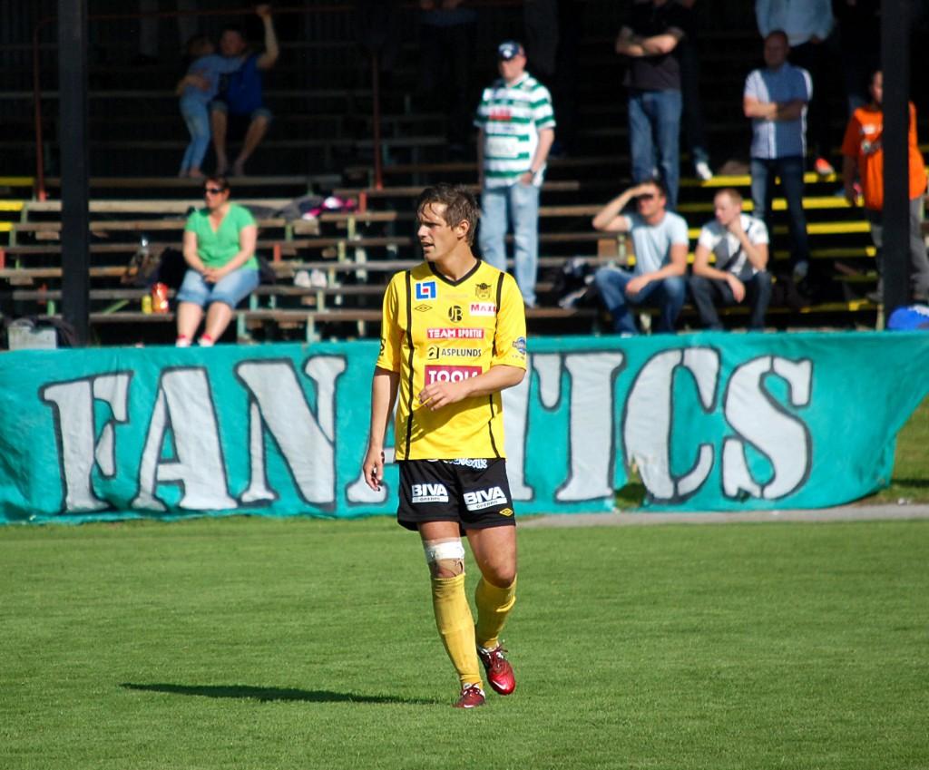Stellan Carlsson lämnar Örgryte efter två säsonger.
