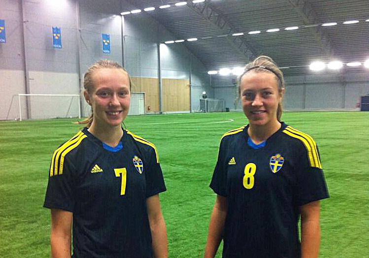 Sabina Forsberg och Freja Olofsson är uttagna till det svenska F16-landslaget.