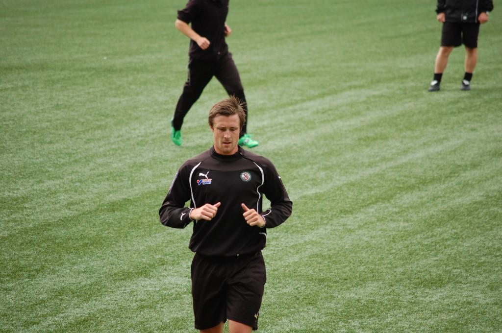 Ett nytt fotbollsliv väntar Per Johansson.