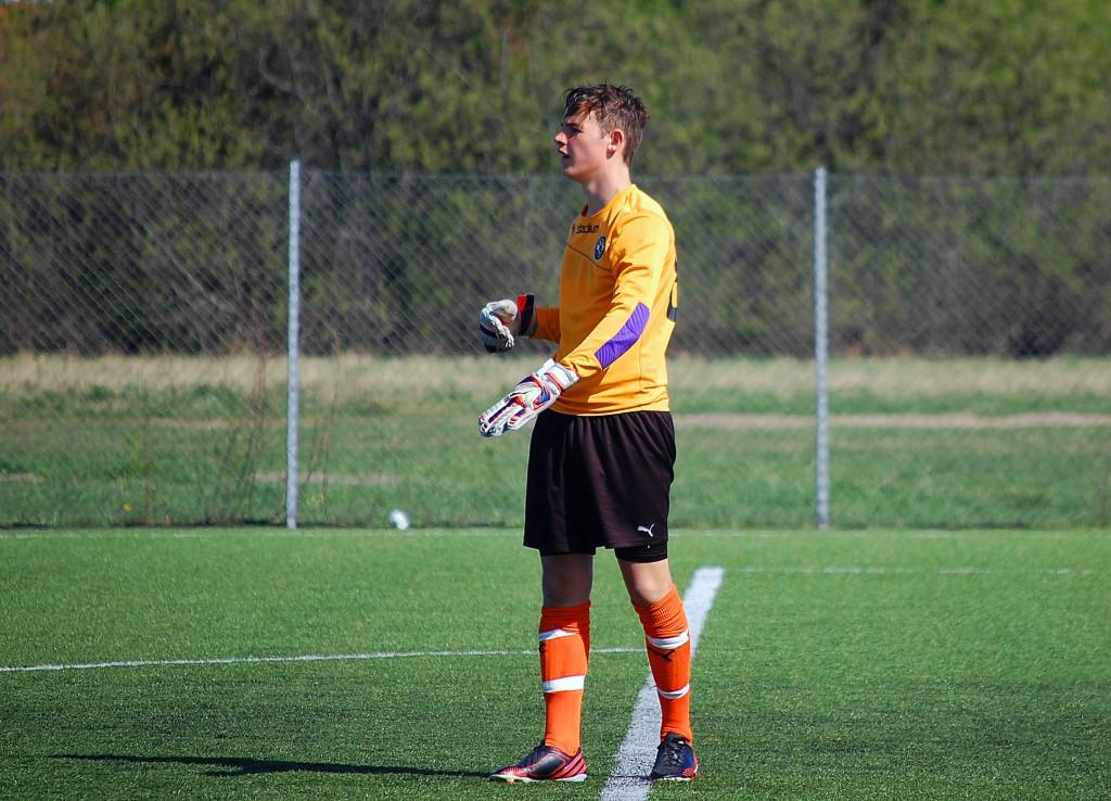 Jack Meehan hade en svettig förmiddag i ÖSK-målet i mer än ett avseende.