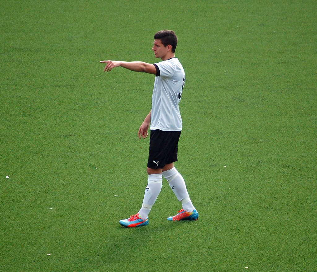 Christer Lipovac spelar med det svenska P18/96-landslaget i Portugal.