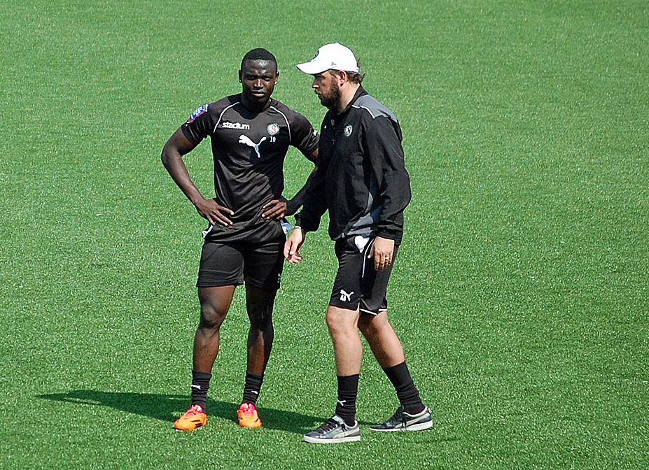 Ingen landskamp för Kamara när ÖSK skall möta Helsingborg?