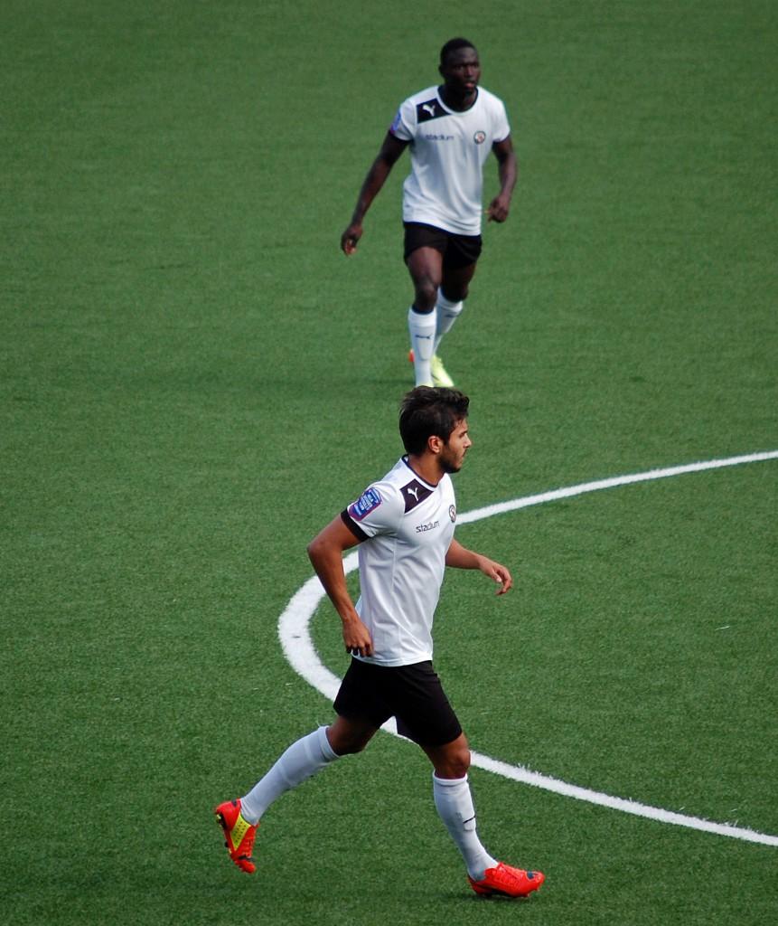 Det blev omstart för både Alhassan Kamara och William Atashkadeh när ÖSK mötte BP i en U21-match.
