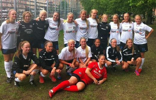 Gothia Cup har startat bra för ÖSK Sder F17 Elit med två segrar och målskillnaden 11-0.