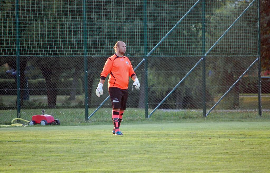 Andreas Lundgrens inspirerade spel räddade en poäng åt Söder.