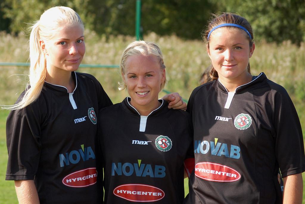 Målskyttar mot Älvsjö: Emma Tivemo (2), Hanna Åbom och Sabina Håkansson.