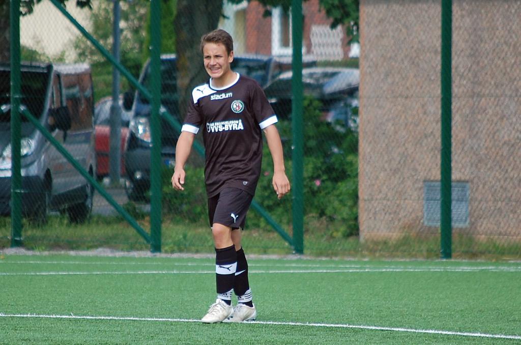 Marcus Karlsson gjorde ÖSKs mål mot Brommapojkarna.