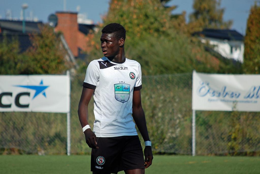 Ebrima Jaithe gjorde det viktiga 1-0 målet som gav ÖSK arbetsro.