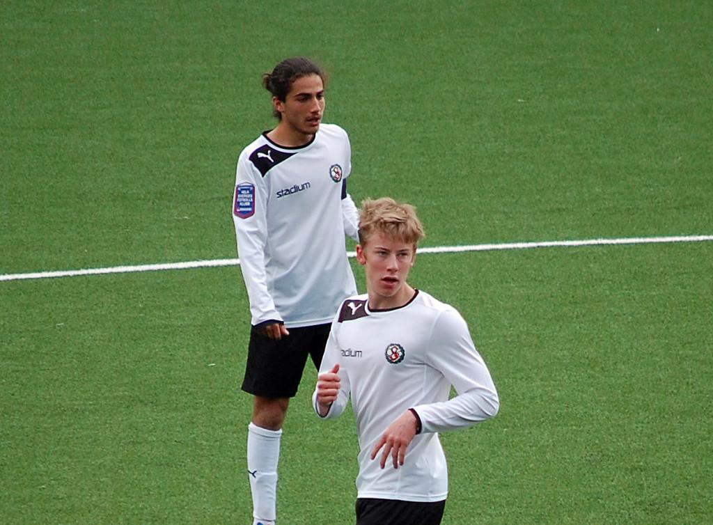 Mirza Turan och Jonathan Lundberg - två av ÖSKs nyckelspelare i åttondelsfinalen mot Umeå FC.