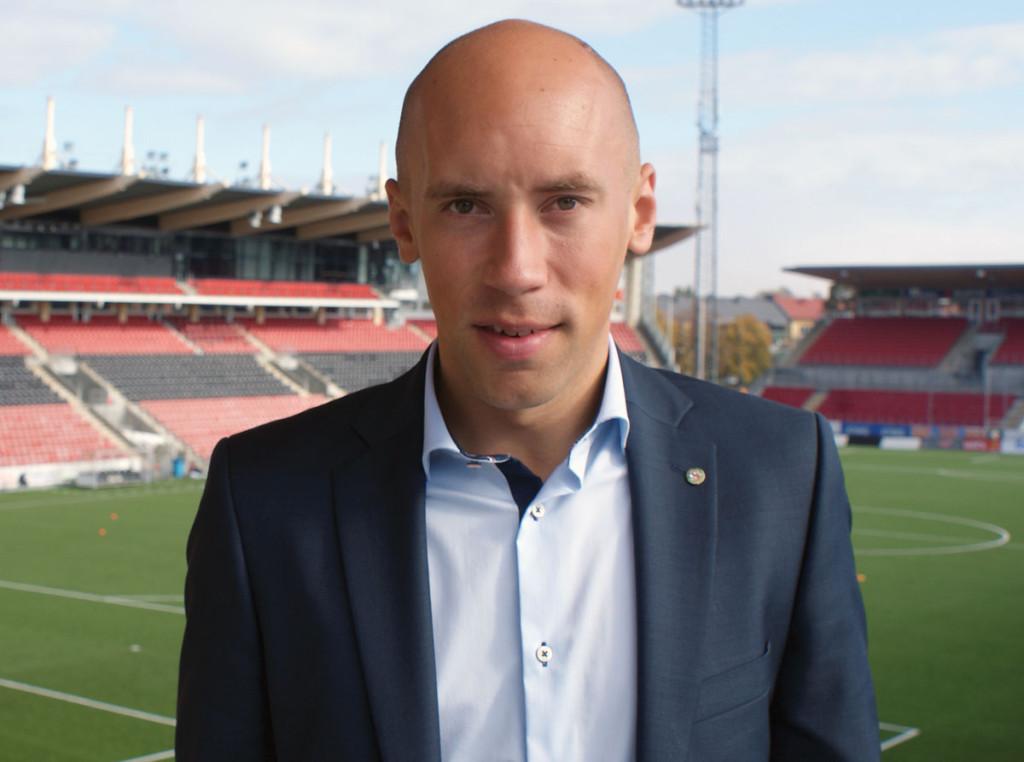 Simon Åström - ÖSKs nye VD och Klubbchef. (Foto: Örebro SK)