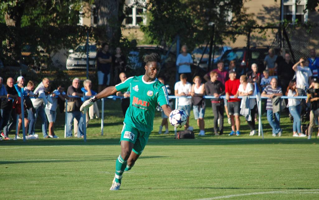 Ismael Diawara var med i det Rynninge-lag som slog ut ÖSK ur Svenska Cupen förra året.