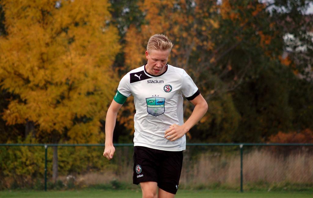 Gabriel Fernsten är en av sju ÖSKare som reprsenterar ÖLFF i Cup Byggnads.