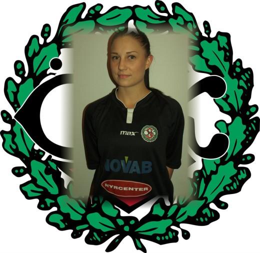 Sophie Pettersson, nyförvärv hos ÖSK Söder. (Foto: ÖSK Söder Dam).