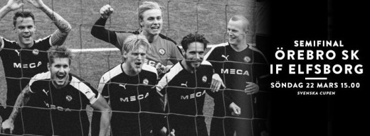 Semifinal i Svenska Cupen.