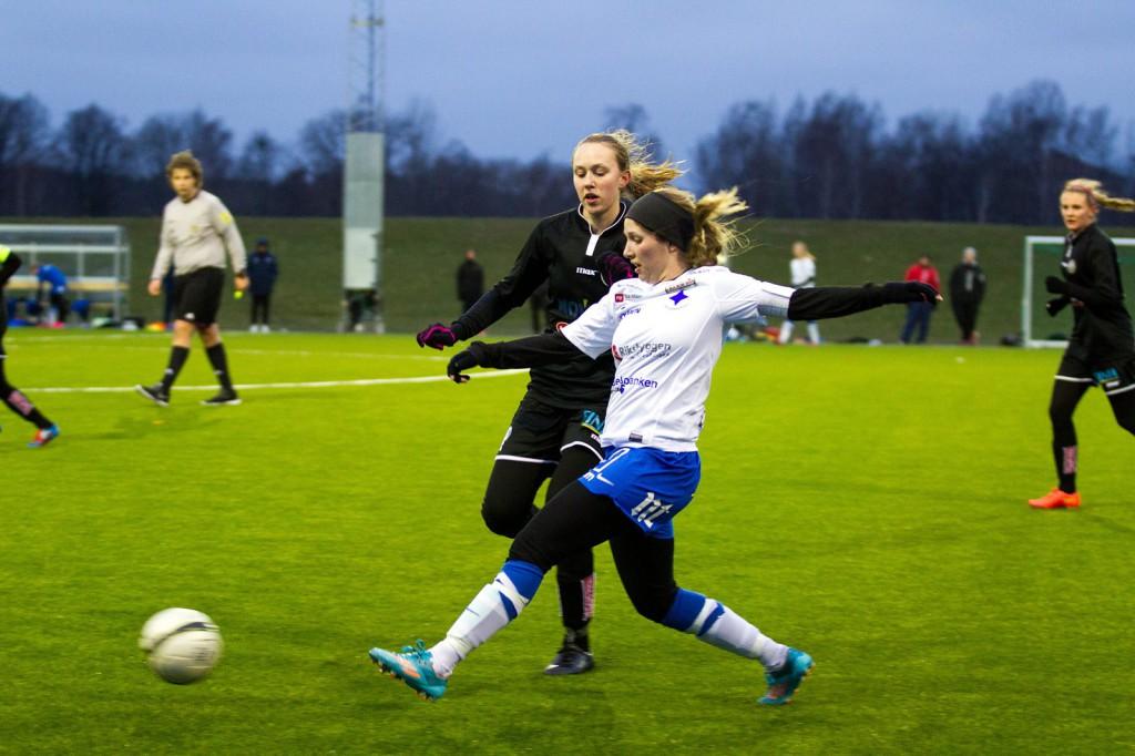 Sabina Forsberg hyfsade till slutresultatet.