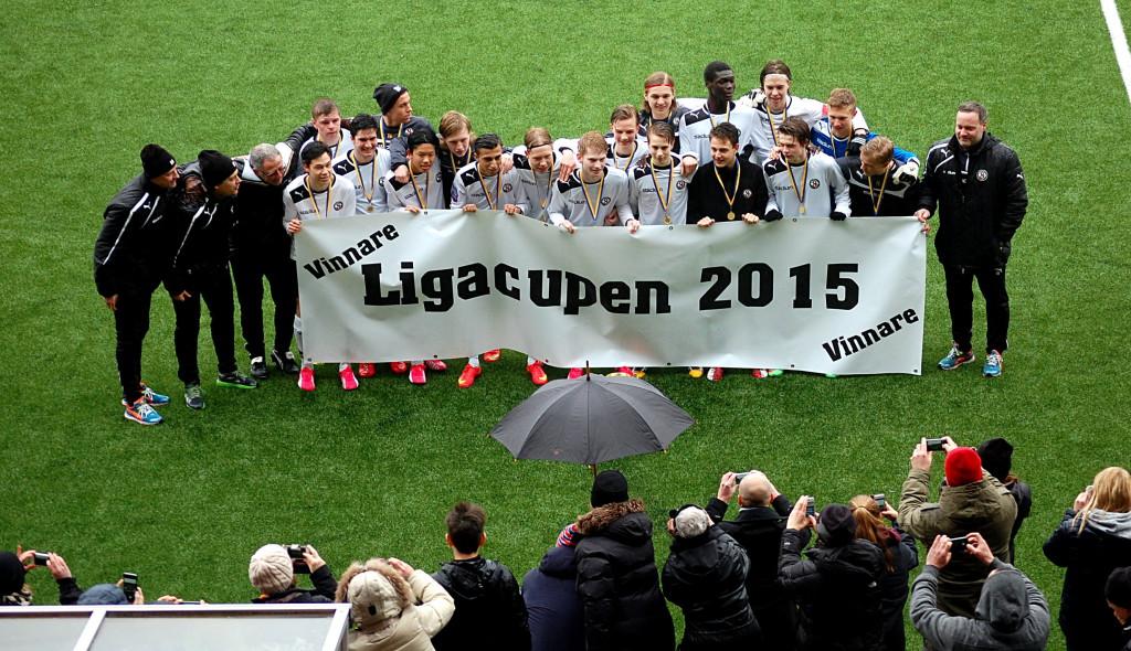 ÖSK U17 - Ligacupsmästare 2015