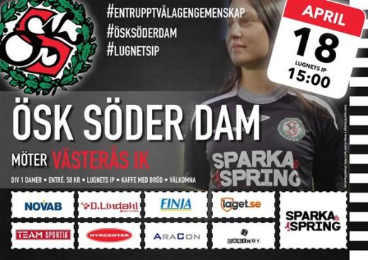 Seriepremiär för Söderdam.