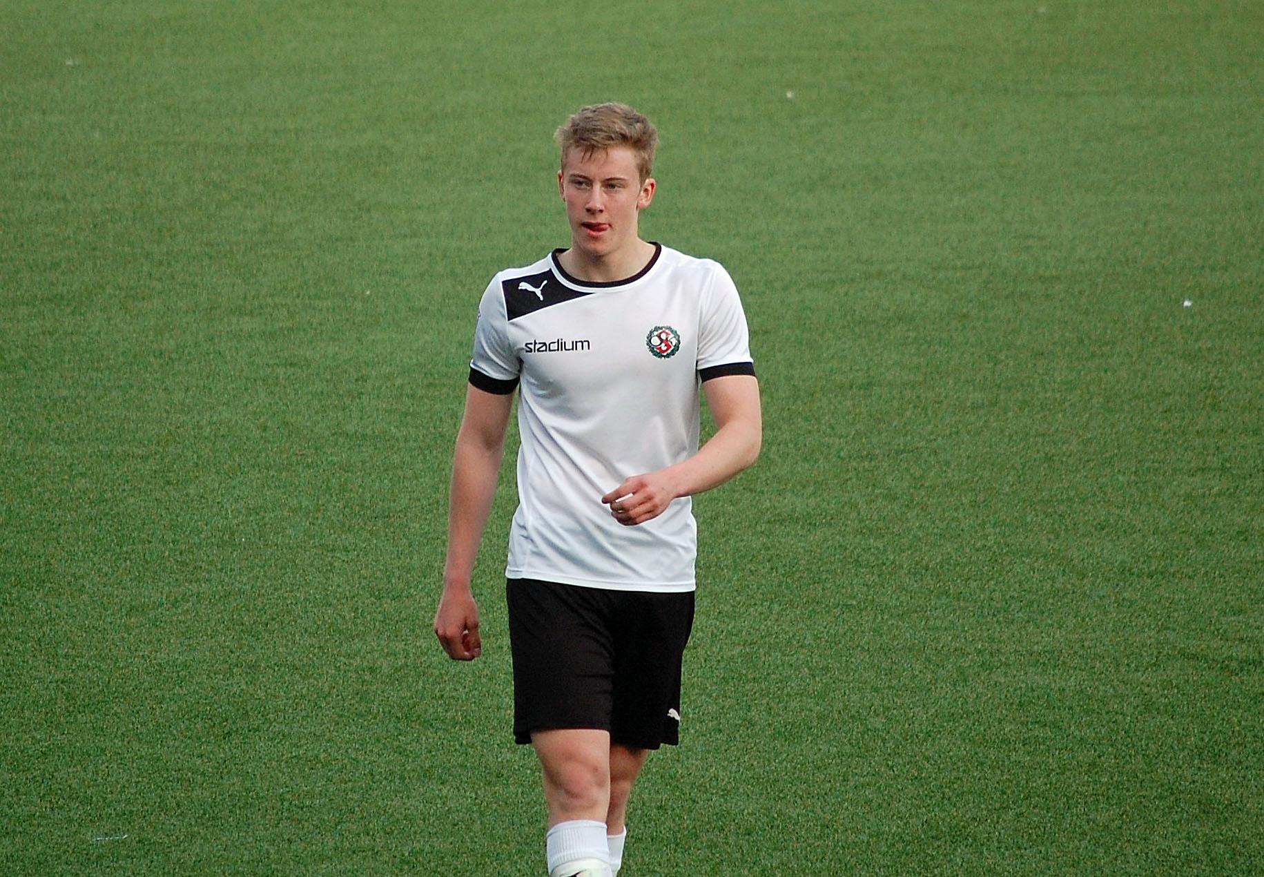 Två mål och en målgivande passning för Jonathan Lundberg.