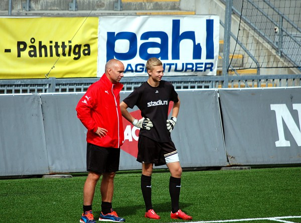 Robert Axelsson och Harald Detlofsson.