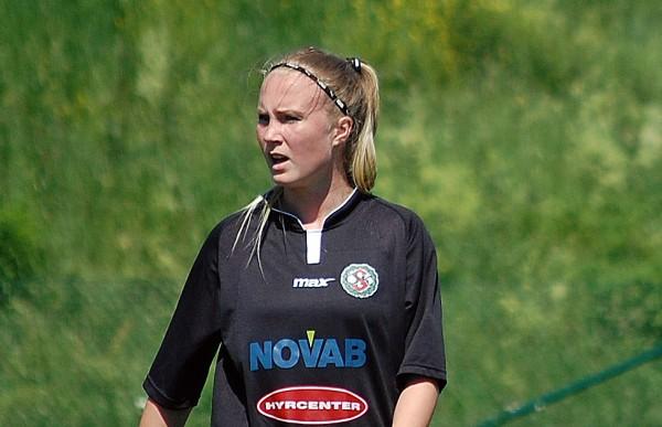 Sara Sandberg gjorde två mål förra gången Söder Dam var i Älvsjö. Dags för repris?