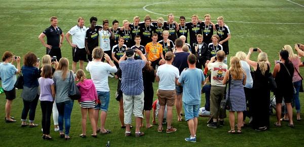 ÖSK P15 -segrare i årets Örebrocup.