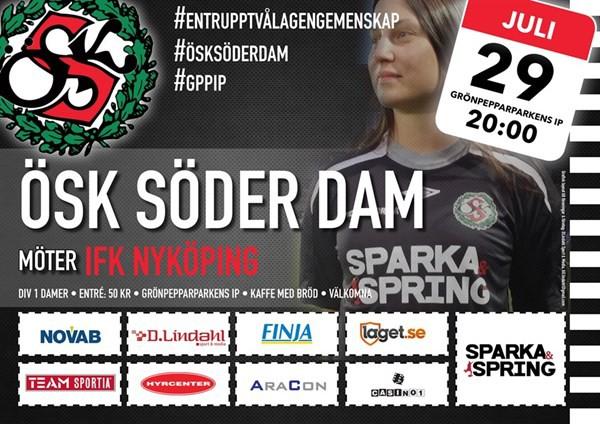 ÖSK Söder Dam - IFK Nyköping