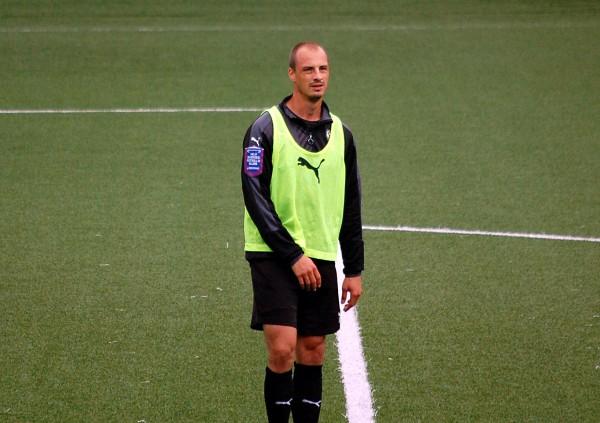 Pär Ericsson var ÖSKs målskytt i U21-matchen mot Djurgården.