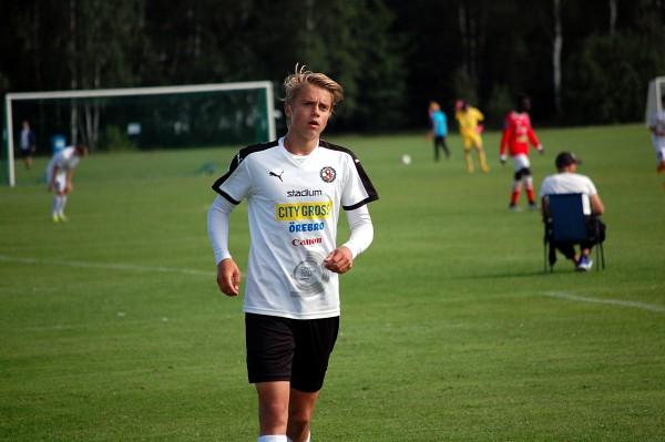 Lucas Parkedal: Kraftfull och löpstark ytterback med god utvecklingspotential.