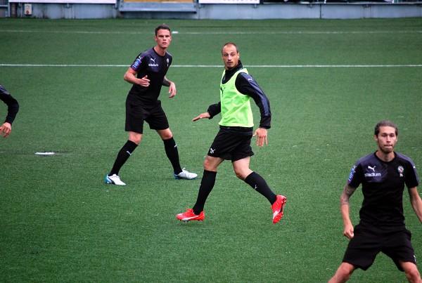 Pär Ericsson tränar numera med Kalmar FF.