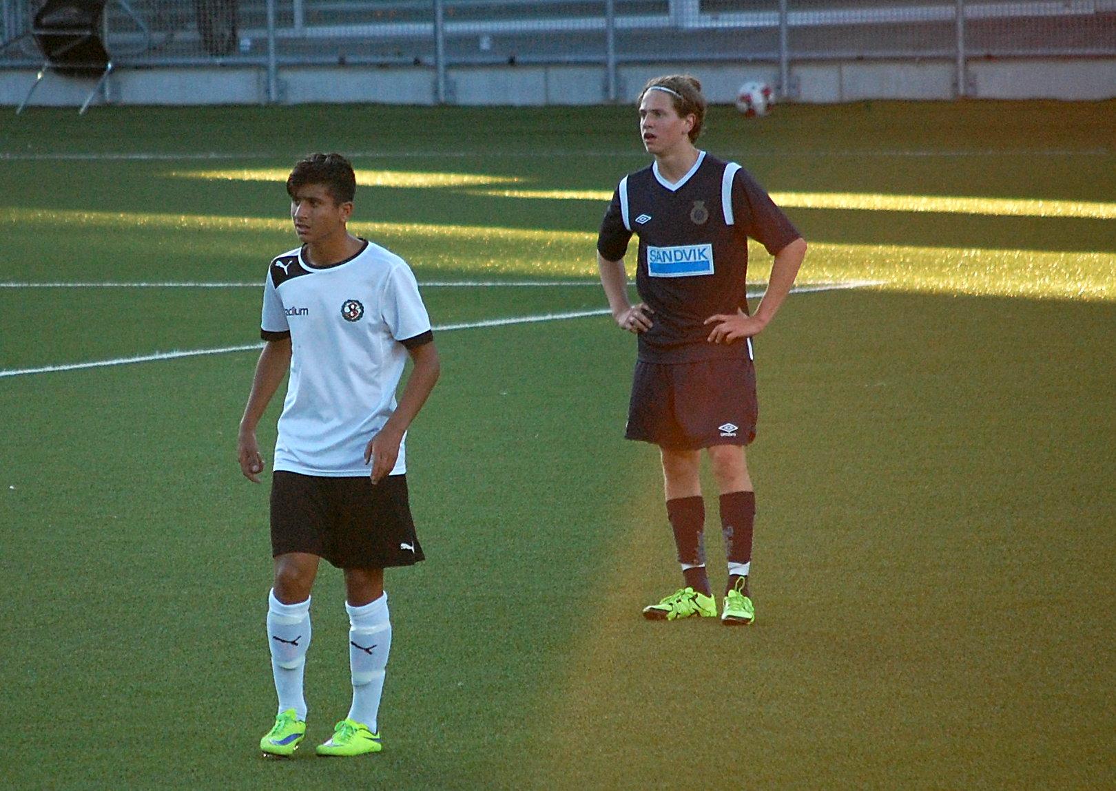 Isac Eklöfs mål avgjorde AIK-matchen till ÖSKs fördel. 484d4568a1b7c