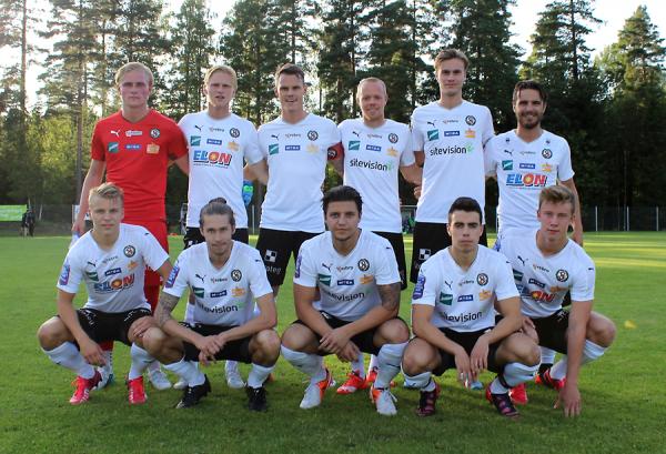 Startelvan i DM-matchen mot IFK Örebro (Foto: Örebro SK).