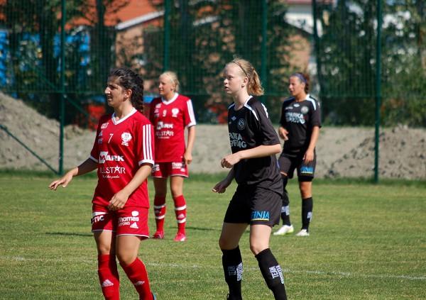 Talangfulla Emma Östlund fick några minuter på slutet.