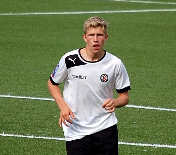 Simon Danielsson - tvåmålsskytt mot AIK U19.