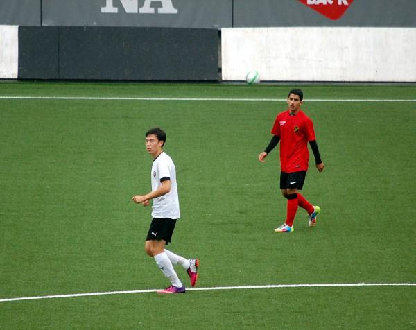 Viktor Walldén bidrog till vinsten mot HBK med ett mål och en målgivande passning.