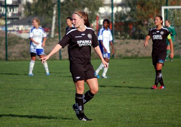 Det blev inga mål för Sara Sandbergs Söder i dagens match mot Älvsjö AIK.