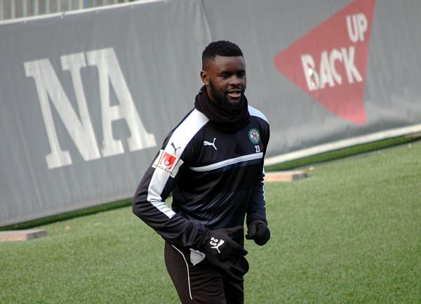 Målgöraren Maic Sema hade all anledning att vara nöjd efter U21-matchen mot Gefle.
