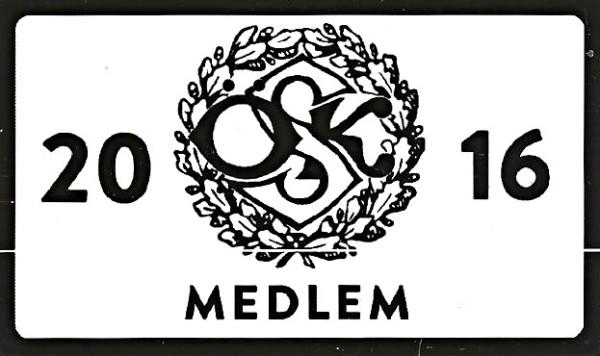 Årets medlemskort i retrodesign.