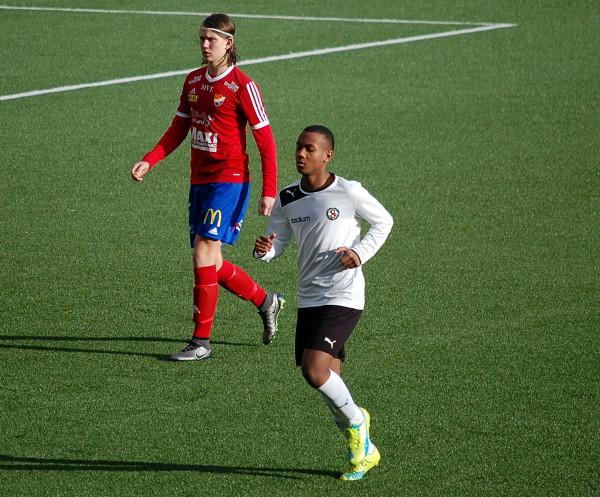 Abbubakar Abduwallis två mål räckte inte den här gången.