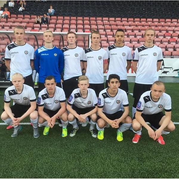Startelvan mot IFK Norrköping. (Foto: Daniel Wickström)
