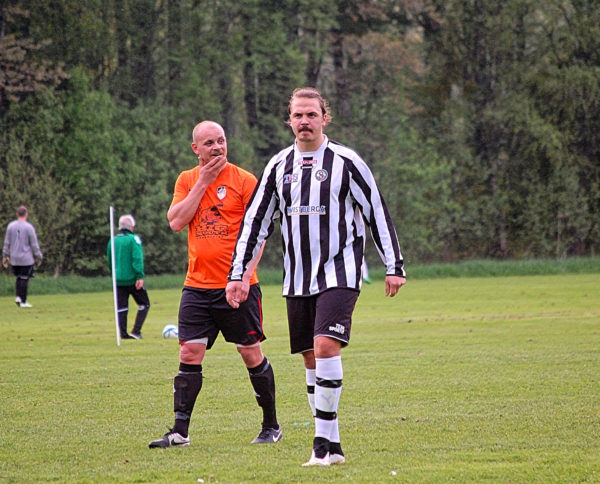 Patrik Sucurovic Hedström avgjorde mot Fellingsbro med sina 3 mål. (Bilden från matchen mot Bobby BK).