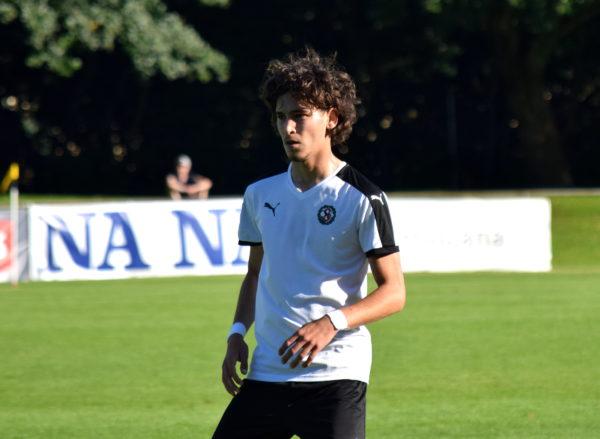 Alfred Ajdarevic på Trängen i U21-matchen mot Hammarby.