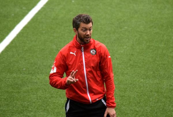 Jimmy Högberg, engagerad och intensiv.