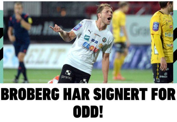 Martin Broberg klar för Odd.